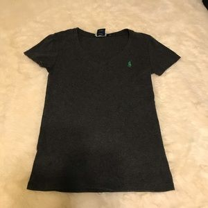 Grey Polo T- Shirt